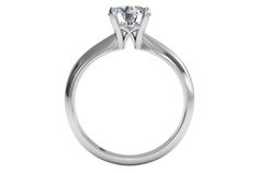 Round Cut Solitaire Diamond Knife-Edge Engagement Ring in 18kt White Gold - Frontview1?w=640&h=430&fit=fill&fm=jpg&q=65&bg=fff
