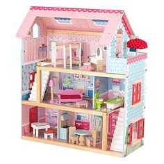 Kidkraft Chelsea Dollhouse with Furniture. Available at Kids Mega Mart online Shop Australia