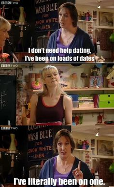 I've been on loads of dates (Miranda Hart)