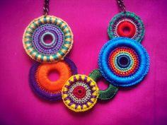 COLLAR DE CROCHET #women #gifts