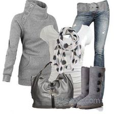Gray and comfy!!