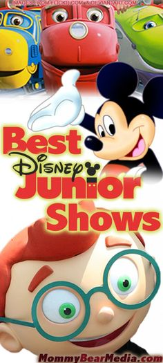 Best Disney Junior Shows with reviews - MommyBearMedia.com #disneyjr