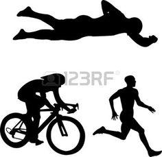 triathlete sketches - Google Search