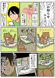 Cat Comics, Funny Cats, Comedy, Funny Pictures, Manga, Humor, Animals, Funny, Dogs