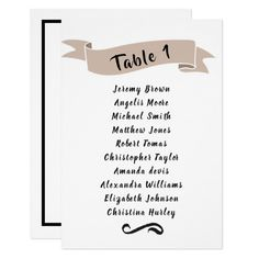 invitation created by KaraBra. Personalize it with photos & text or purchase as is! Seating Chart Wedding, Seating Charts, Card Invitation, Invitations, Small Gift Bags, Small Gifts, Beige Wedding, Card Patterns, Wedding Thank You