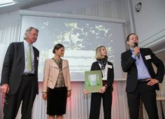 Crown Princess Victoria presents the Swedish Recycling Industries' Inspiration Prize May 12, 2014