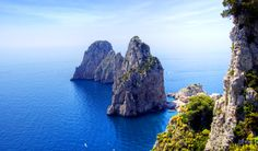Sailing holidays in Italy: Capri, Italy. Moor on the Marina Piccole on the Capri and take in the delights of this gem in the Tyrannies Sea.