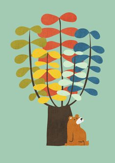Poster | SHADY TREE von Budi Kwan | more posters at http://moreposter.de