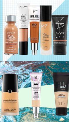 Makeup for Skin Types – Makeup for Wrink. - Makeup for Skin Types – Makeup for Wrinkles – – - Bb Cream Foundation, Foundation For Oily Skin, Foundation Tips, No Foundation Makeup, Huda Beauty Makeup, Dewy Makeup, Face Makeup, Mac Cosmetics Lipstick, Makeup Cosmetics