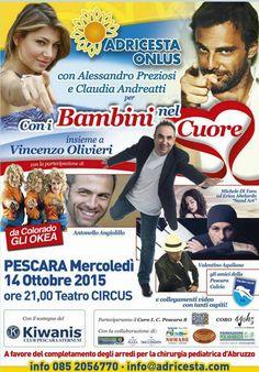 """Pescara, """"Con i bambini nel cuore"""""""