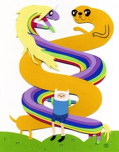 Jared Andrew Schorr: Fwends Forever [Adventure Time]
