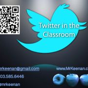 Using #twitter in the classroom.  Presentation
