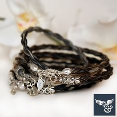Cricket horse hair bracelets on Cavalcade