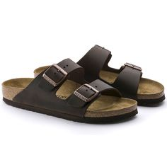 9054c1658 BIRKENSTOCK Arizona Oiled Leather Habana in all sizes ✓ Buy directly from  the manufacturer online ✓ All fashion trends from Birkenstock