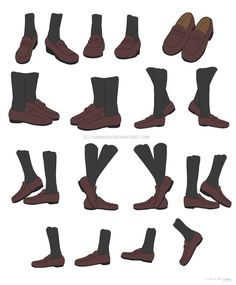 Drawing Reference Poses, Anatomy Reference, Design Reference, Drawing Tips, Feet Drawing, Drawing Base, Shoe Drawing, Drawing Anime Clothes, Fashion Design Drawings