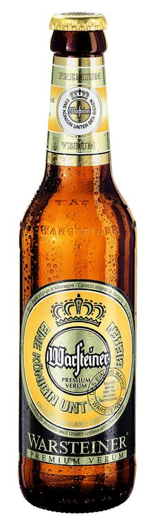 Warsteiner beer, Germany