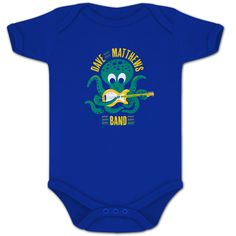 Someday my child will def get this!  DMB Octopus Onesie https://davematthewsband.livenation.spottrot.com/?product_uid=DMCM121