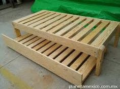 Flaxa Pull Out Bed White Bed Frames