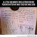Just poop.