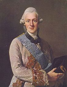 Frederick Adolf of Sweden (1750 - 1803). Son of Adolf Frederick and Louisa Ulrika of Prussia.