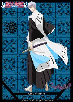 Gin Ichimaru by nagato392.deviantart.com on @deviantART