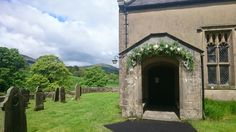 Church archway  The inn at white well  #sweetpeafloristry rachel@sweetpeafloristry.co.uk