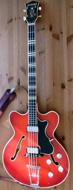 '63 Hofner Verithin Bass