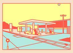 Siempre, pero siempre un paseo diario por Behance nos llevará a conocer algún proyecto nuevo del que queramos averiguar más o una serie de imágenes o fotografías que queramos compartir, como por ejemplo estas ilustraciones de Thomas Hedger. En el verano de 2016 el diseñador gráfico inglés, inspirado por sus constantes visitas a las estaciones …