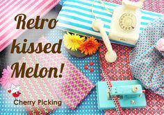 Taste like melon! und Retro Patti, Retro Flow von cherry picking auch bei uns im Shop http://www.trollinge.de/Stoffe/Stoffe-nach-Hersteller/cherry-picking/?listing_sort=date_desc&listing_count=32