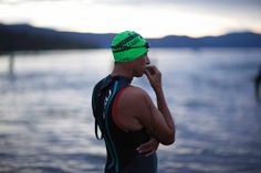 Overcoming fear of swimming in open water