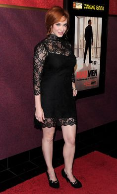 "Christina Hendricks Photos - Premiere Of AMC's ""Mad Men"" Season 4 - Arrivals - Zimbio"