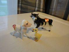 Vintage  Bone China Japan miniature  farm by Treasurehunt4all, $14.99
