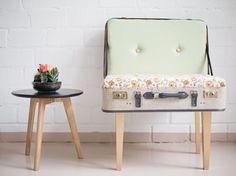 Tutoriel DIY: Fabriquer une chaise à partir d'une vieille valise via DaWanda.com