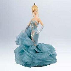 2011 Hallmark Ornament Debut Reveal Barbie Ornament | Hallmark Keepsake Ornaments at Hooked on Hallmark Ornaments