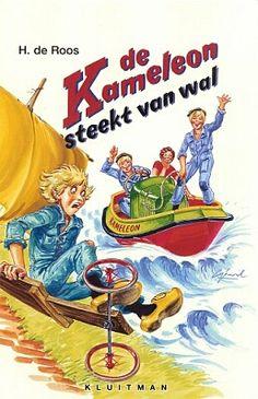 De Kameleon steekt van wal (nr. 35 - 1973)  Geschreven door Hotze de Roos  Illustraties: Gerard van Straaten