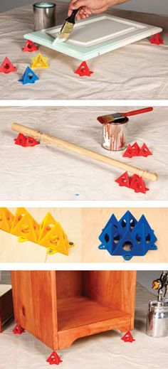 Painter's Pyramids, Woodworking tool, Perfect for fine woodworking or any woodworking plan or idea