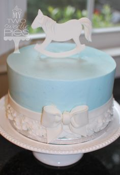 1000 Ideas About Rocking Horse Cake On Pinterest Horse