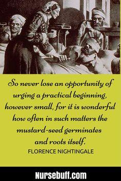 20 Greatest Florence Nightingale Quotes #Nursebuff #Nurse #Quotes