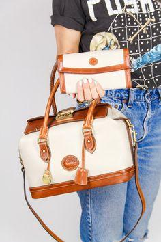 Authentic Vintage Designer Dooney and Bourke Mk Handbags, Purses And Handbags, Cheap Handbags, Vintage Purses, Vintage Handbags, Fashion Bags, Fashion Accessories, Cute Bags, My Bags