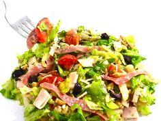 Skinny version of La Scala's Famous Chopped Salad