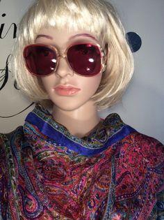 Vintage 1970's Designer Diane Von by Stylishiddentreasure on Etsy