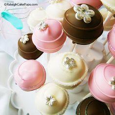 Cake Pops that Glitter!