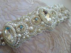 """Купить Браслет """"Swan Princess"""" - белый, белый браслет, Браслет ручной работы, вышитый браслет"""