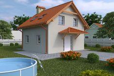 Murowany, tradycyjny i ekonomiczny to atuty tego projektu, może powstać nawet na małej działce! Zobacz więcej. Exterior Design, Interior Inspiration, Outdoor Structures, Mansions, House Styles, Outdoor Decor, Home Decor, Website, Facades