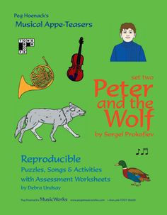 PETER & THE WOLF ACTIVITY KIT