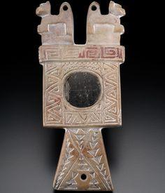 Tiwanaku mirror AD 500–1100 Tiwanaku, La Paz, Bolivia
