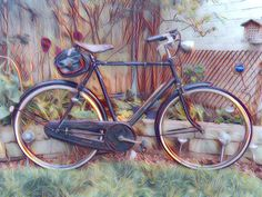 A blog about my hobby and passion.... Riding and restoring old bicycles from by-gone eras.