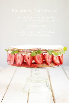 Strawberry Cheesecake by Cintamani ;-), via Flickr