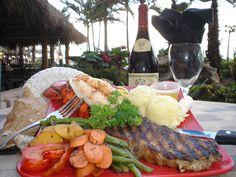 Bamboo Beach Club & Tiki Bar at the Ocean Manor Hotel & Beach Resort