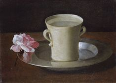 File:Francisco de Zurbarán - Cup of Water and a Rose on a Silver Plate - WGA26060.jpg